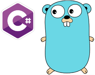 C# and golang